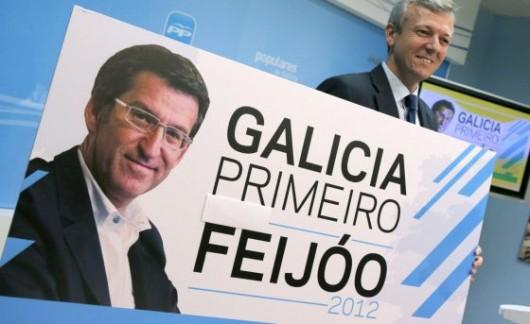 campaña Feijóo