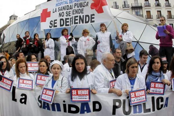 El problema de la sanidad española