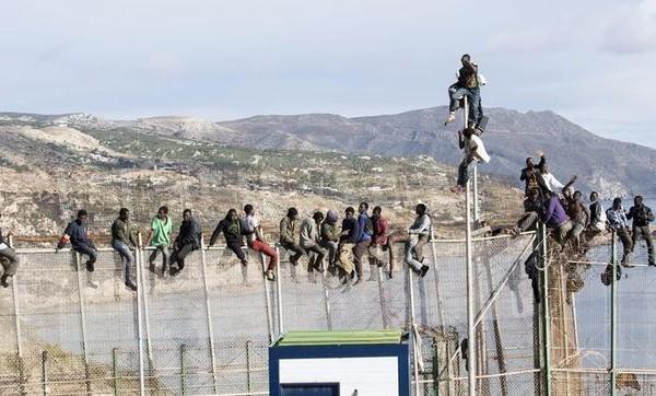 La relación del ébola y la frontera de Melilla