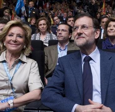 Esperanza Aguirre piensa que se lo están poniendo fácil a Podemos