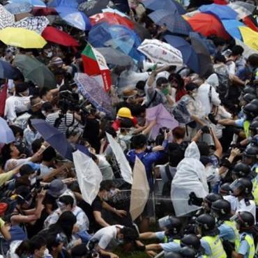 """Claves para entender la """"revolución de los paraguas"""" en Hong Kong"""